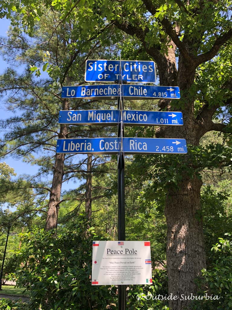 Have you been to any of the sister cities of Tyler, Texas?