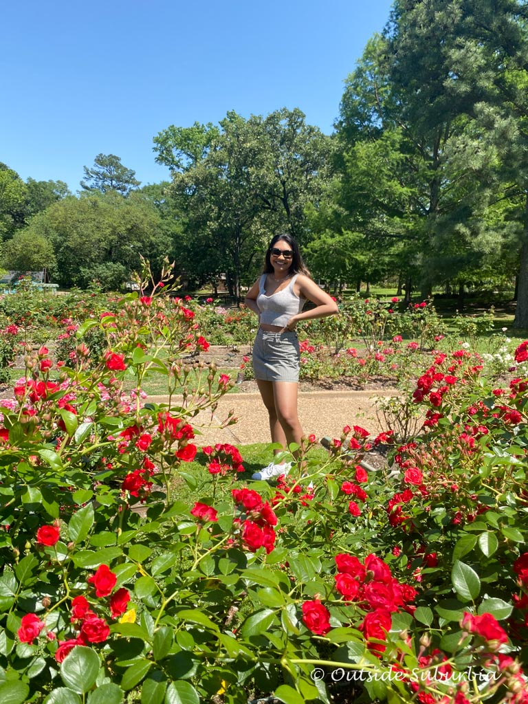 Tyler Rose Garden - Outside Suburbia
