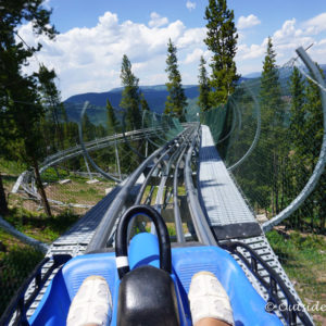 Alpine coaster. Read the article to see why we think Summer is Vail is an Epic Adventure #Vail #Colorado #SummerAdventures
