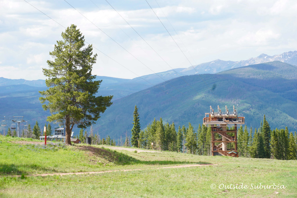 Zipline in Vail. Read the article to see why we think Summer is Vail is an Epic Adventure #Vail #Colorado #SummerAdventures