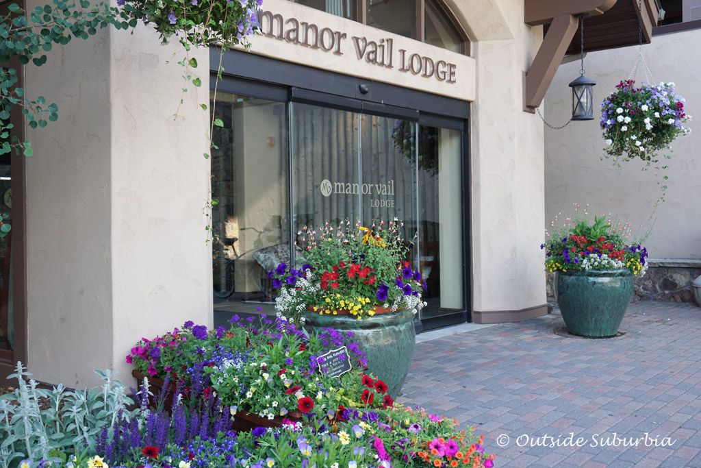 Manor Vail Lodge. Read the article to see why we think Summer is Vail is an Epic Adventure #Vail #Colorado #SummerAdventures