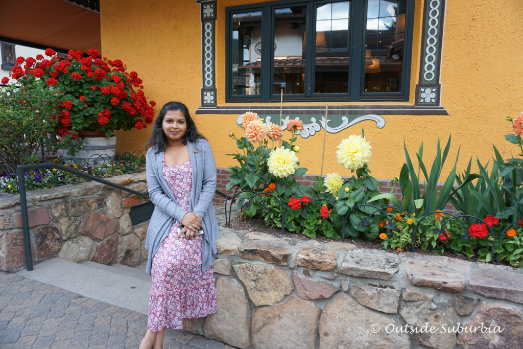 Flowers at Vail village, Colordo - Outside Suburbia