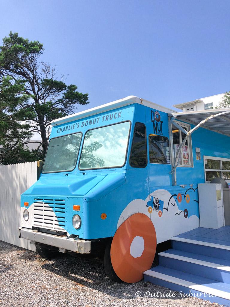 Charlie's Donut Shop on Alys Beach - Outside Suburbia