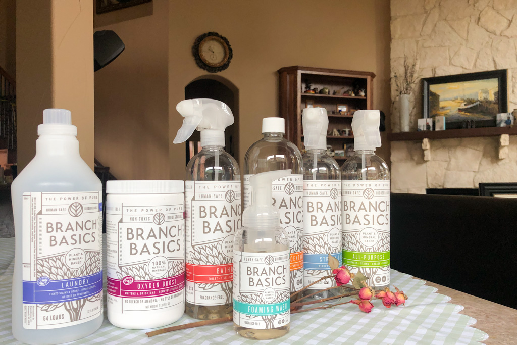 Branch Basics, Eco-friendly cleaning supplies