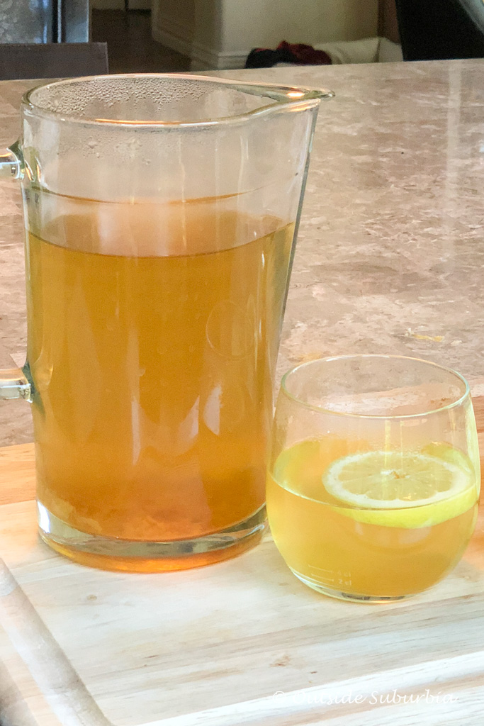 Benefits of drinking Lemon Ginger Turmeric Tea - Outside Suburbia