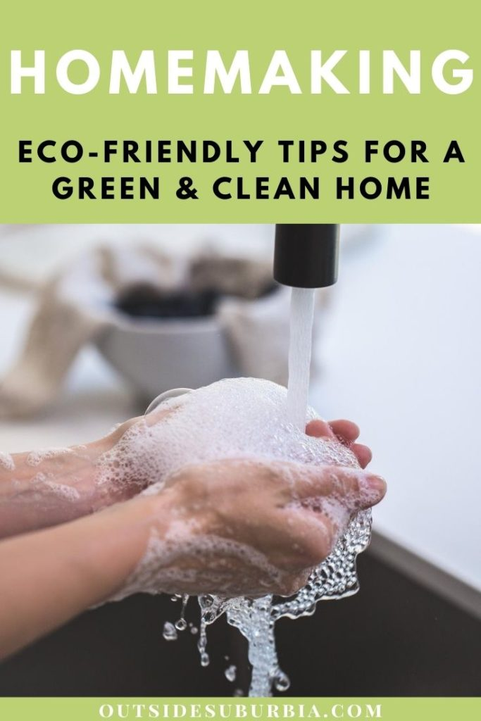 Eco-Friendly tips and products for cleaning your home. Let's ditch the chemical-based cleaning products that harm the environment, our homes and our planet.