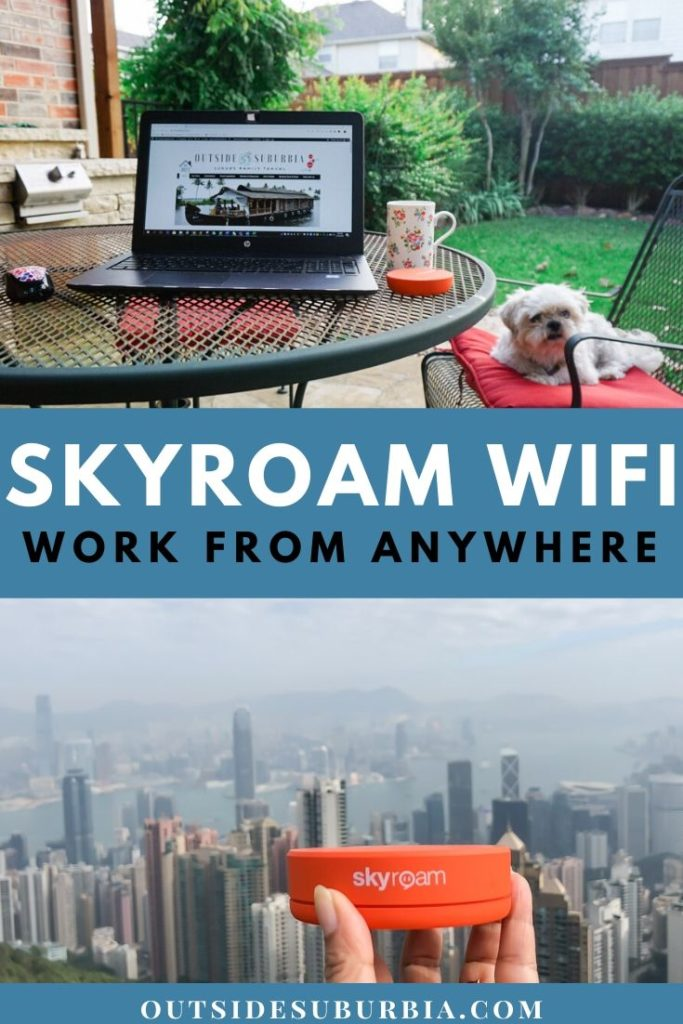 Skyroam helps you work from anywhere. Here is a Skyroam WiFi Review – how it works, the different plans and a coupon code to save some money.