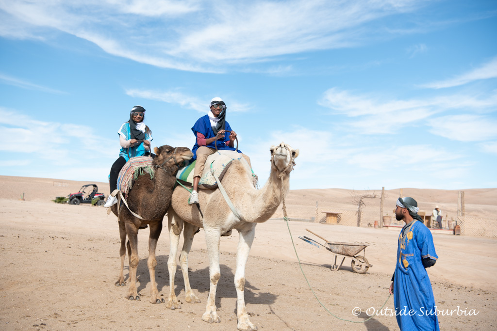 Camel rides on the Agafay Desert near Marrakech | Outside Suburbia