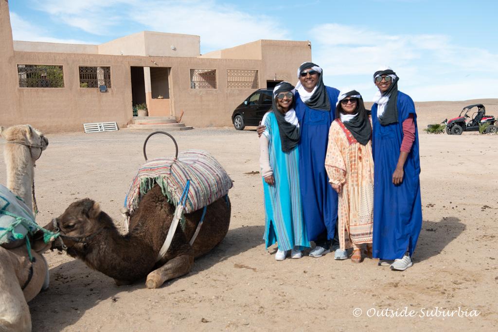 Agafay Desert near Marrakech