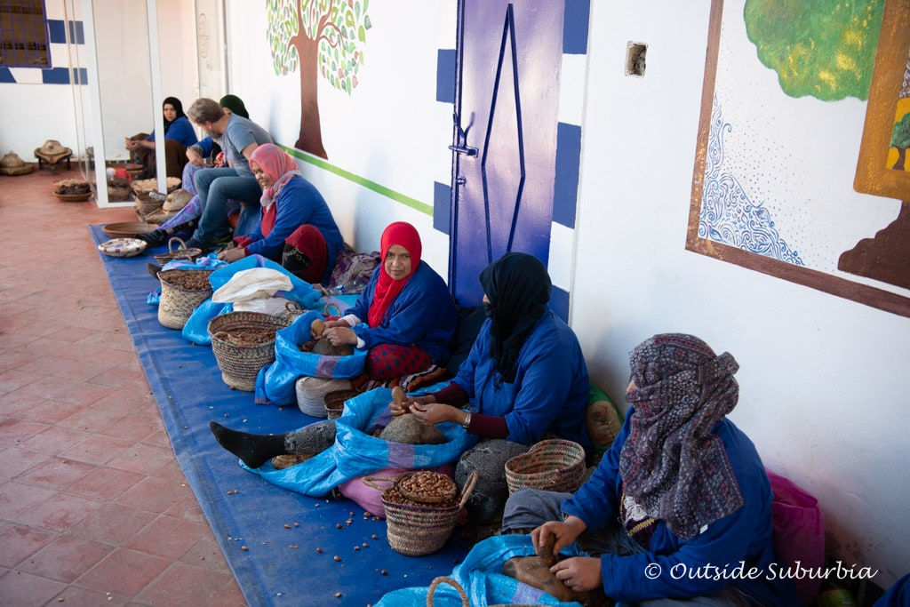 Argan Oil Cooperative, Morocco  | Outside Suburbia