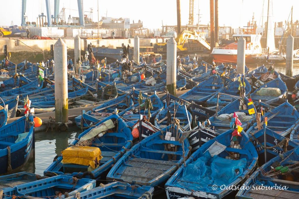Port of Essaouria, Morocco  | Outside Suburbia