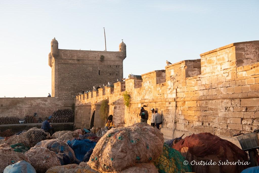 Harbor Scala and the Citadel of Essaouria, Morocco  | Outside Suburbia