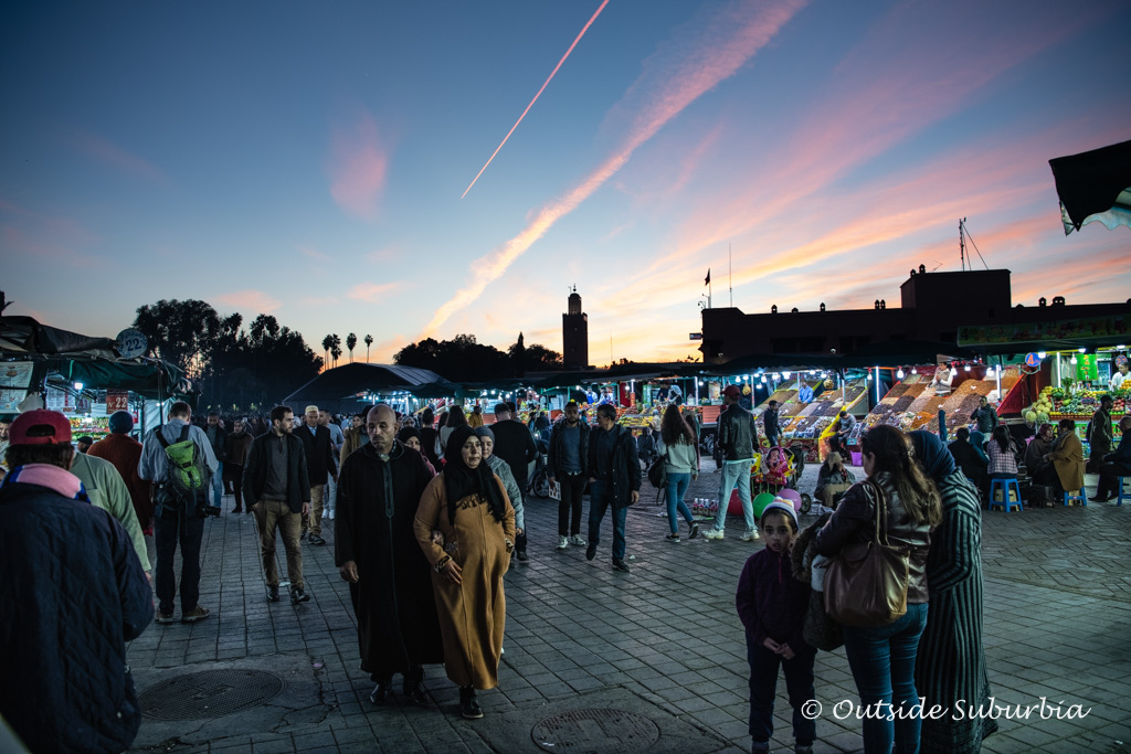 A Perfect Week: Best things to do in Marrakech in 7 days - Jemaa el Fna Square  | Outside Suburbia