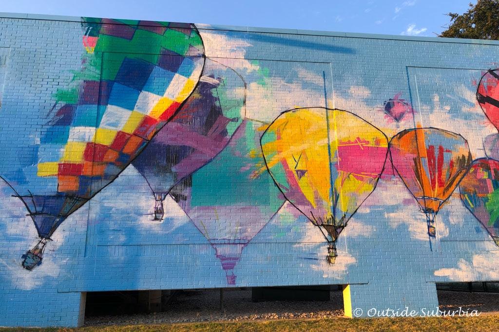 Murals in Plano, Texas | Outside Suburbia