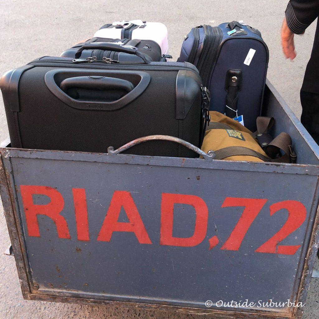 Riad 72 Room view   Outside Suburbia