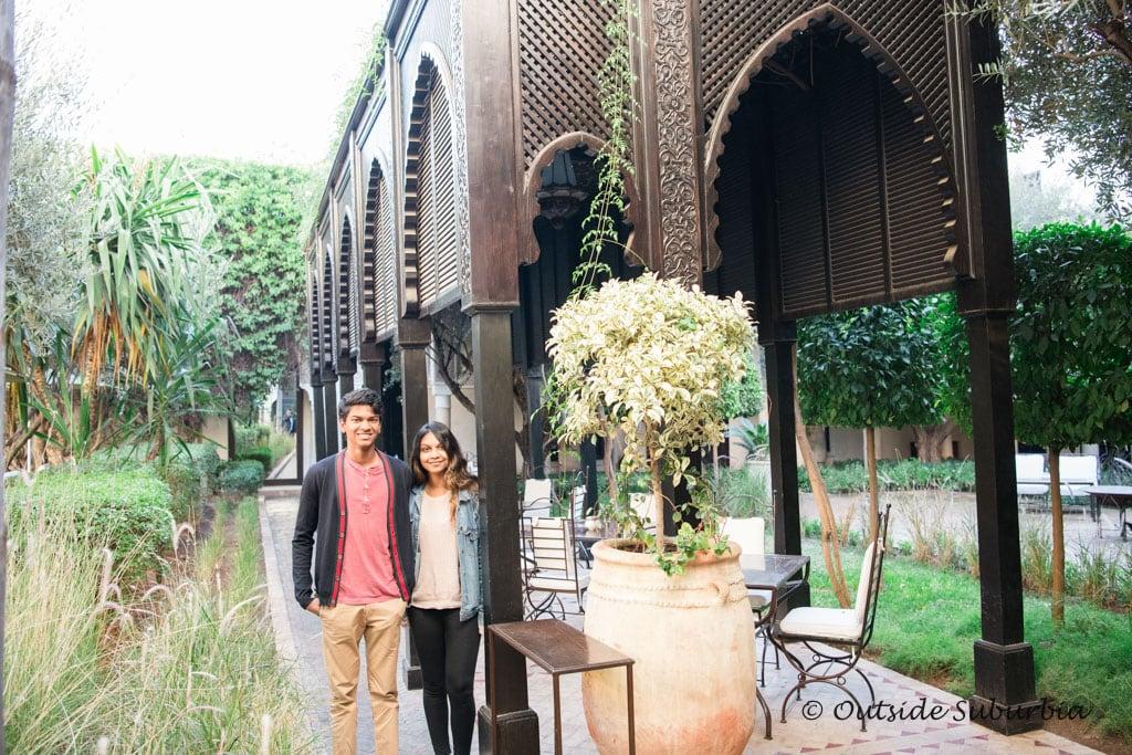 Where to stay in Marrakech: Villa des Orangers | Outside Suburbia