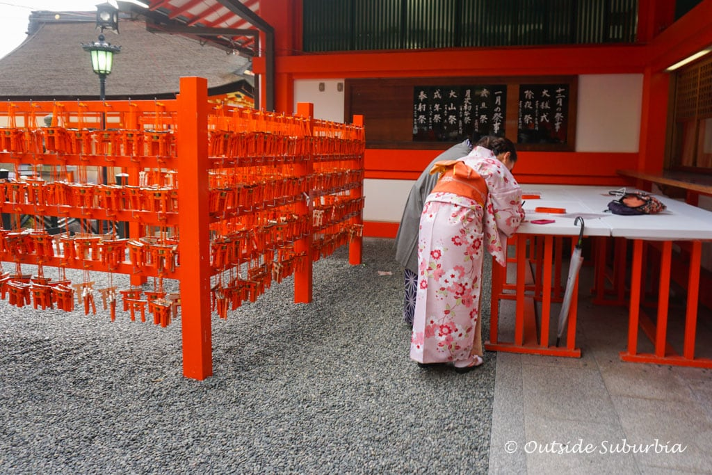 Prayers and Offerings - Tips to visit the Fushimi Inari in Kyoto | Outside Suburbia