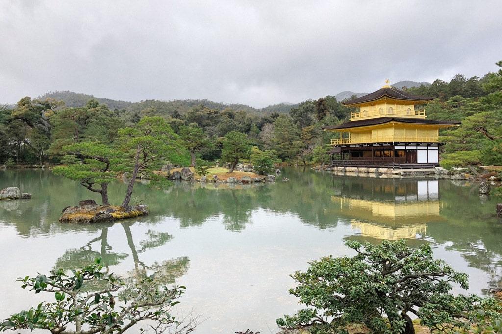 Temple of the Golden Pavilion (Kinkaku-ji), Beautiful Kyoto Temples & Zen Gardens | Outside Suburbia