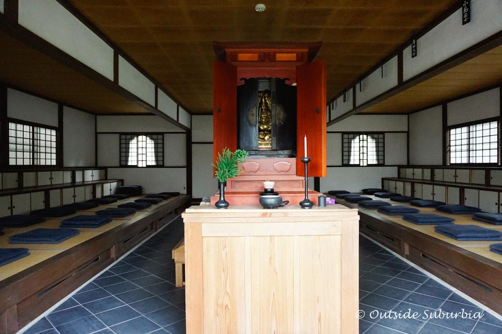 Buddha statue at Enkoji temple in Kyoto | Outside Suburbia