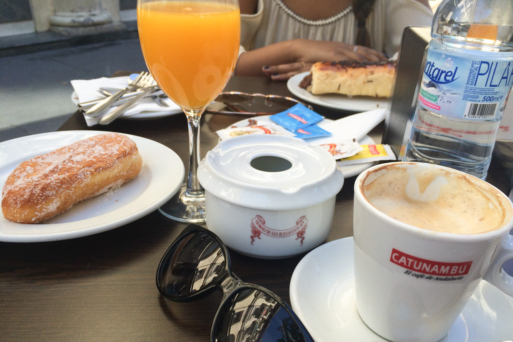 Typical Spanish Breakfast | Outside Suburbia