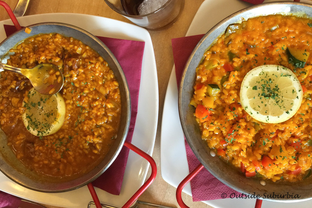 Paella - 10 Spanish Dishes & Drinks you MUST try when visiting Spain | Outside Suburbia