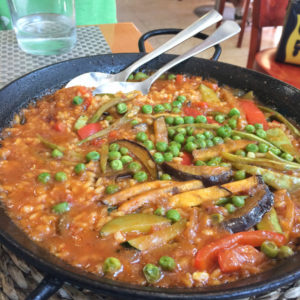Vegetable Paella Recipe | Outside Suburbia
