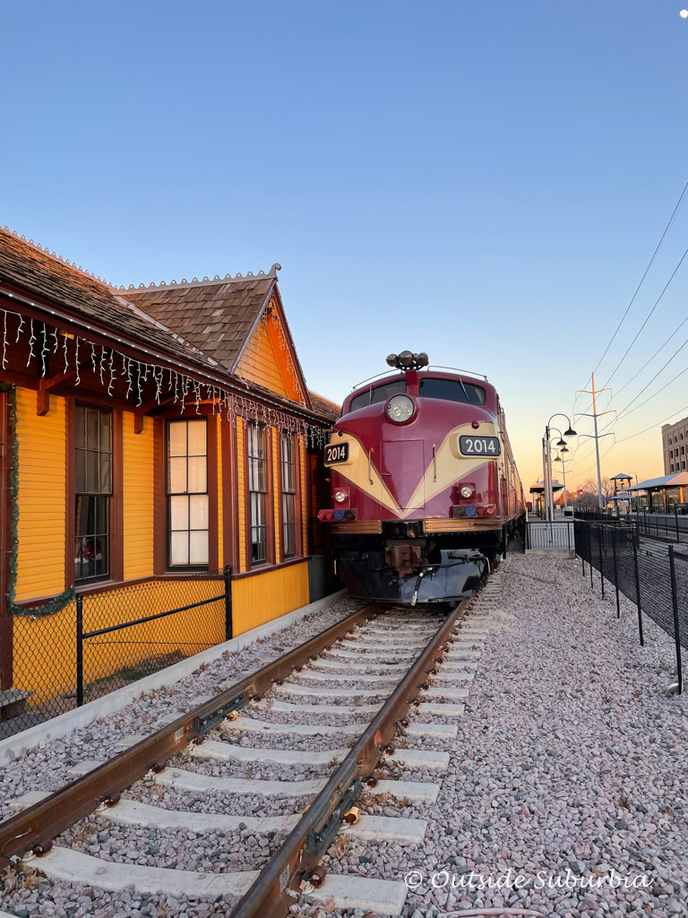 Ride the North Pole Express Train in Grapevine, The Christmas Capital of Texas | Outside Suburbia