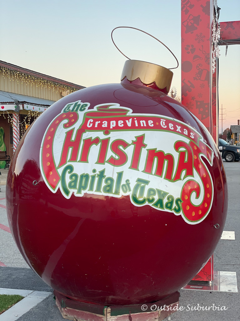 Magic on Mainstreet in Grapevine, The Christmas Capital of Texas | Outside Suburbia