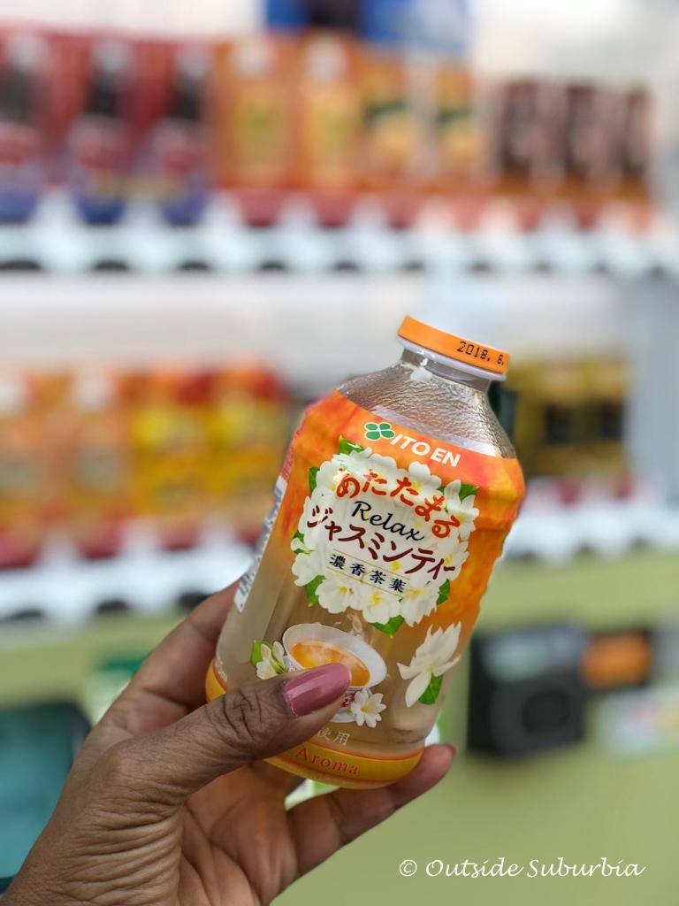Warm Jasmine Tea straight out of a vending machine | Outside Suburbia