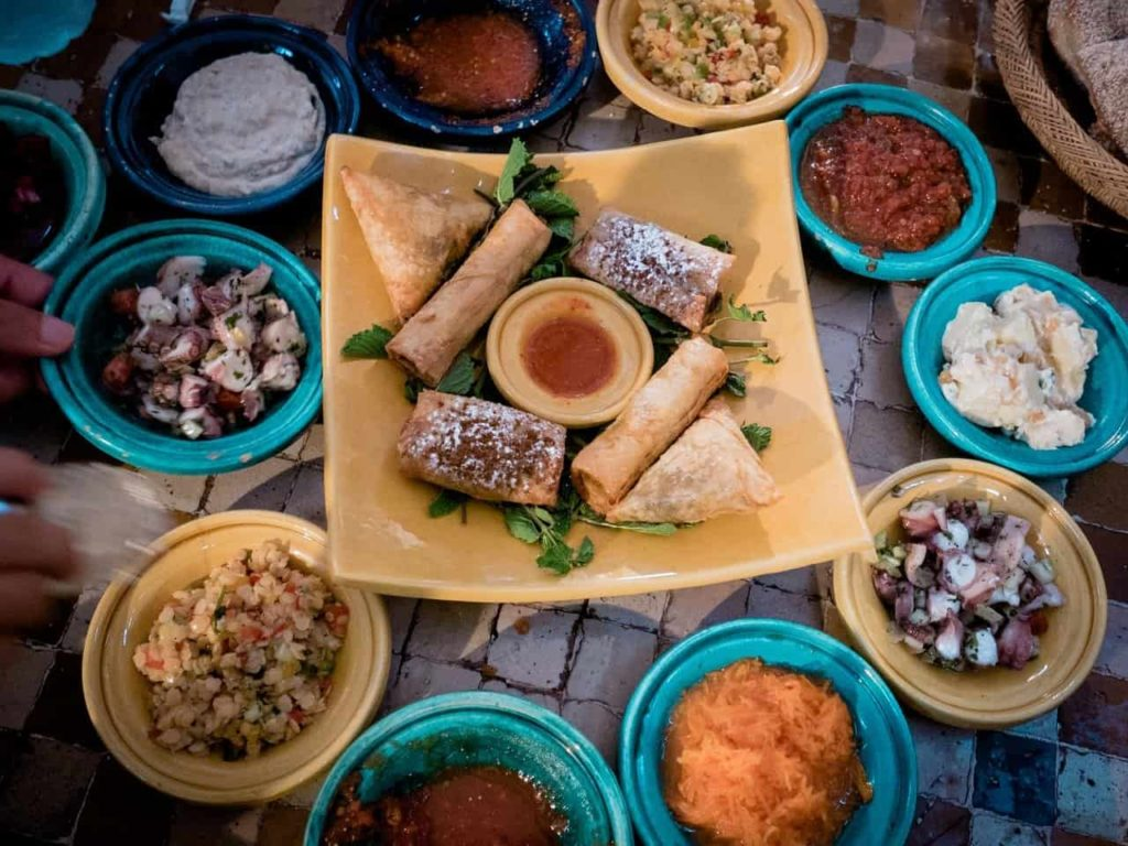 Moroccan Dips & Appetizers | Outside Suburbia