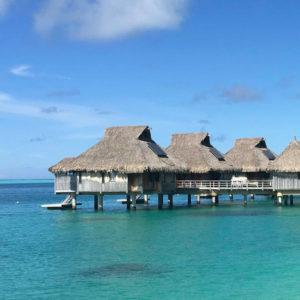 Overwater Bungalows near the USA, Bora Bora | Outside Suburbia
