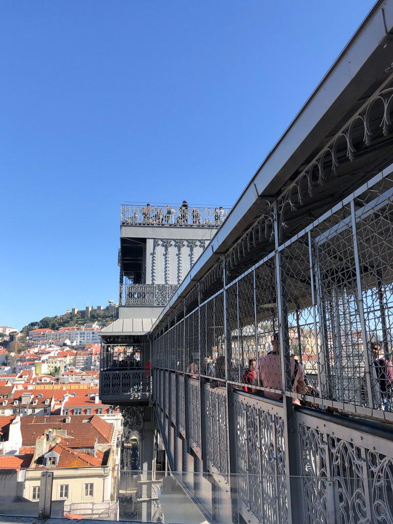 Elevador de Santa Justa, Lisbon | Outside Suburbia