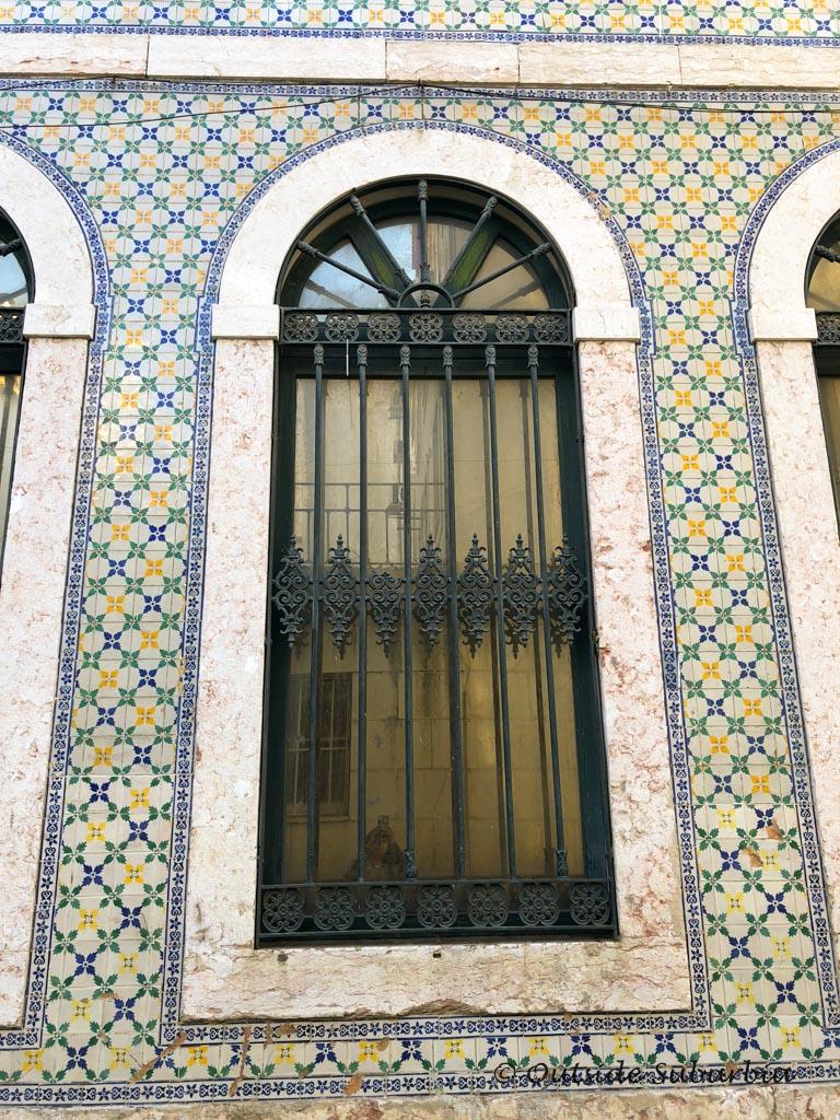 Beautiful tile work in Lisbon | Outside Suburbia