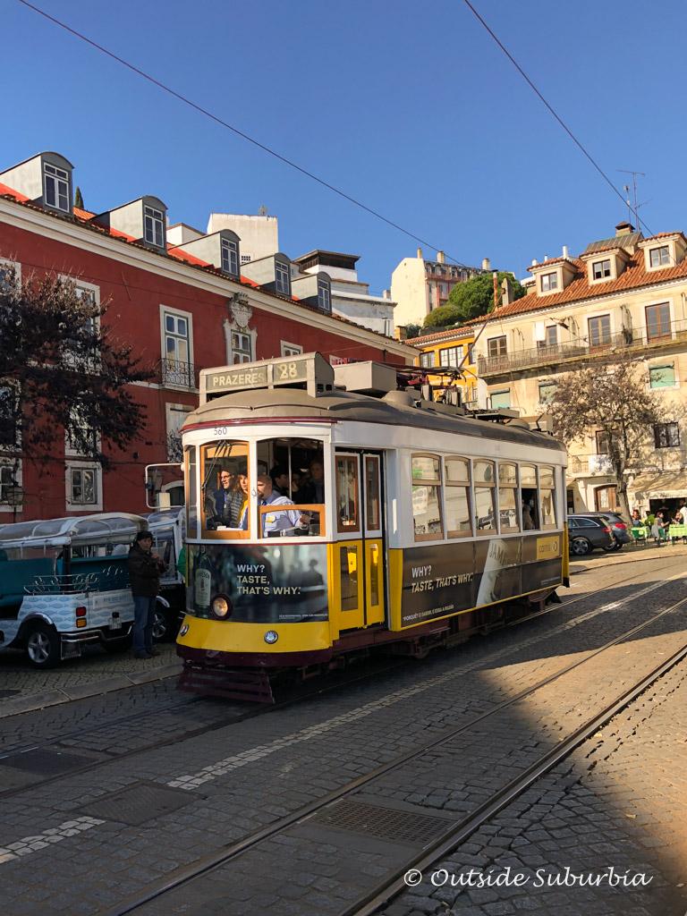 Tram 28 in Lisbon | Outside Suburbia