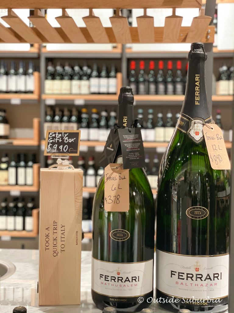 Buy your Italian Wine at Eataly | Outside Suburbia