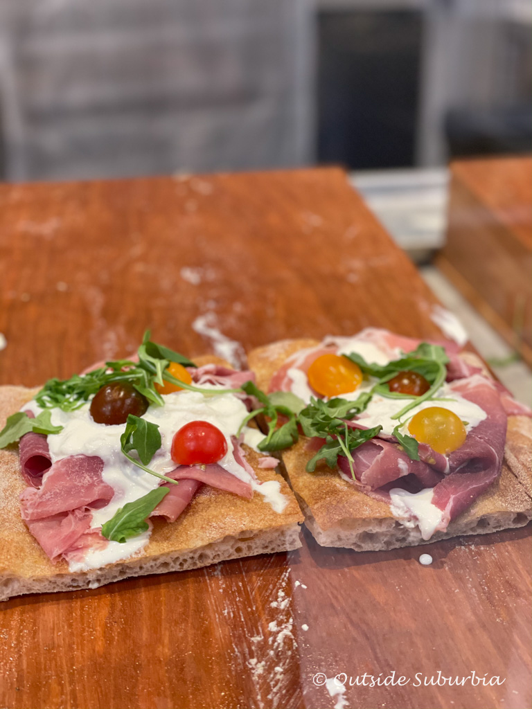 Pizza by the slice at Eataly | Outside Suburbia
