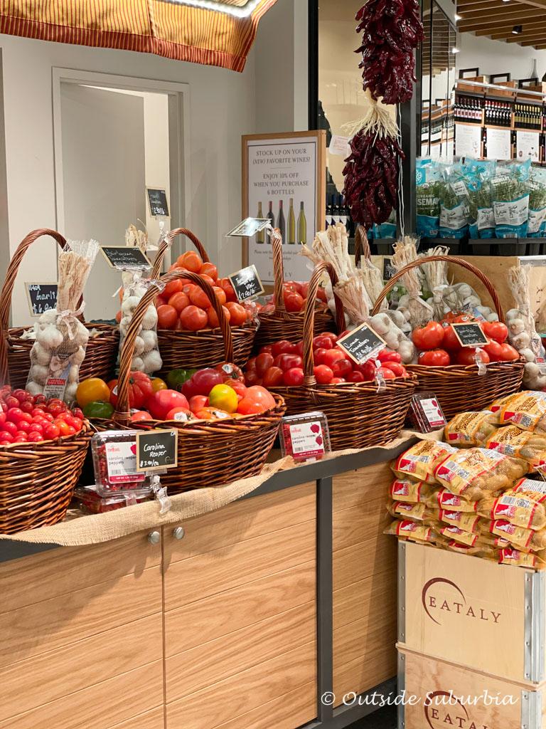 Fresh produce at Eatlay | Outside Suburbia