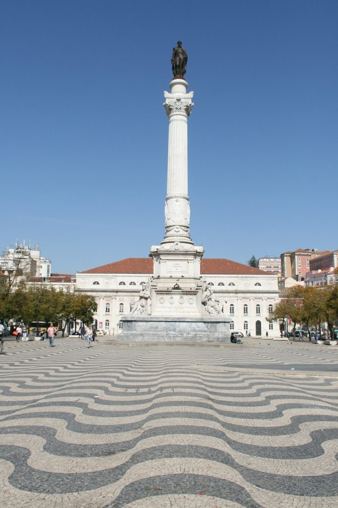 Rossio Square, Lisbon | Outside Suburbia
