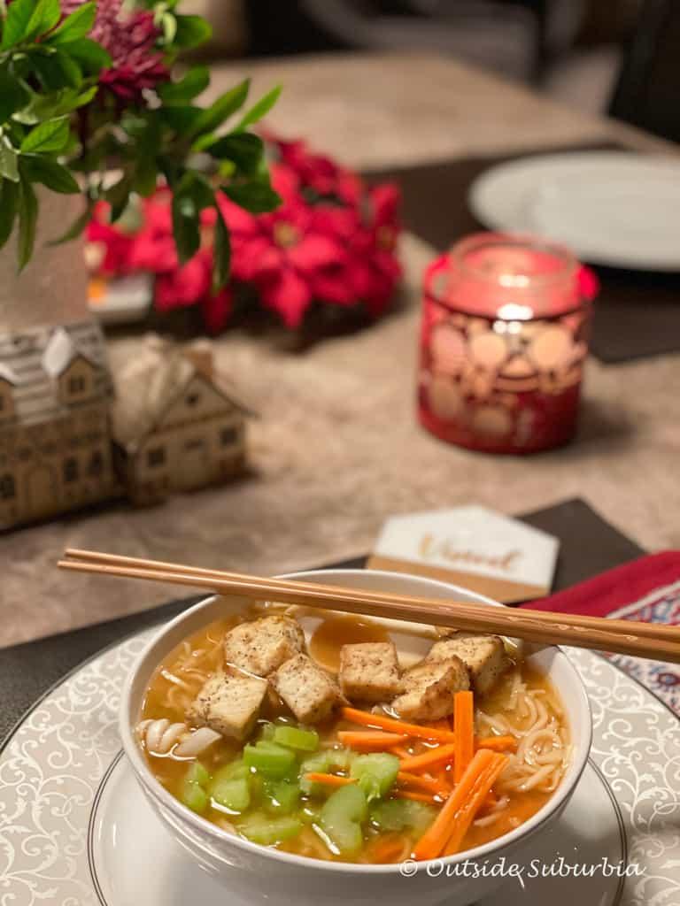 How to make vegetarian ramen | Outside Suburbia