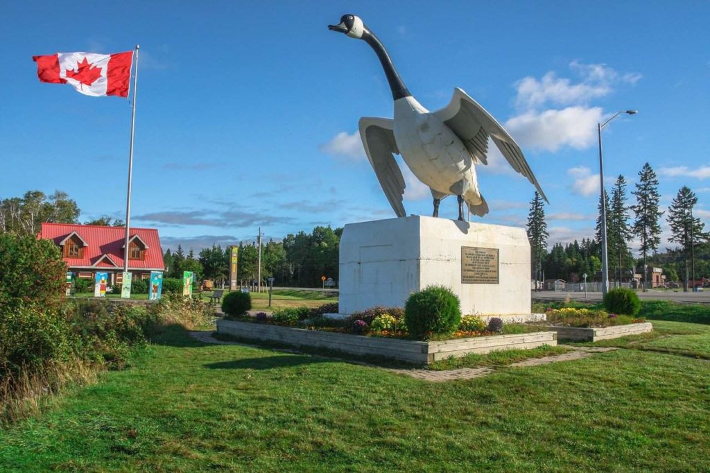 Wawa Goose Monument, one of the most photographed landmarks in North America | Outside Suburbia