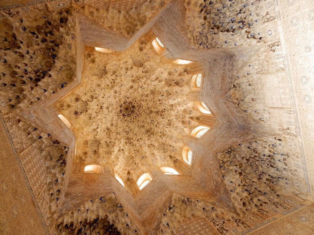 The Hall of the Abencerrajes (Sala de los Abencerrajes), Alhambra, Granada | Outside Suburbia