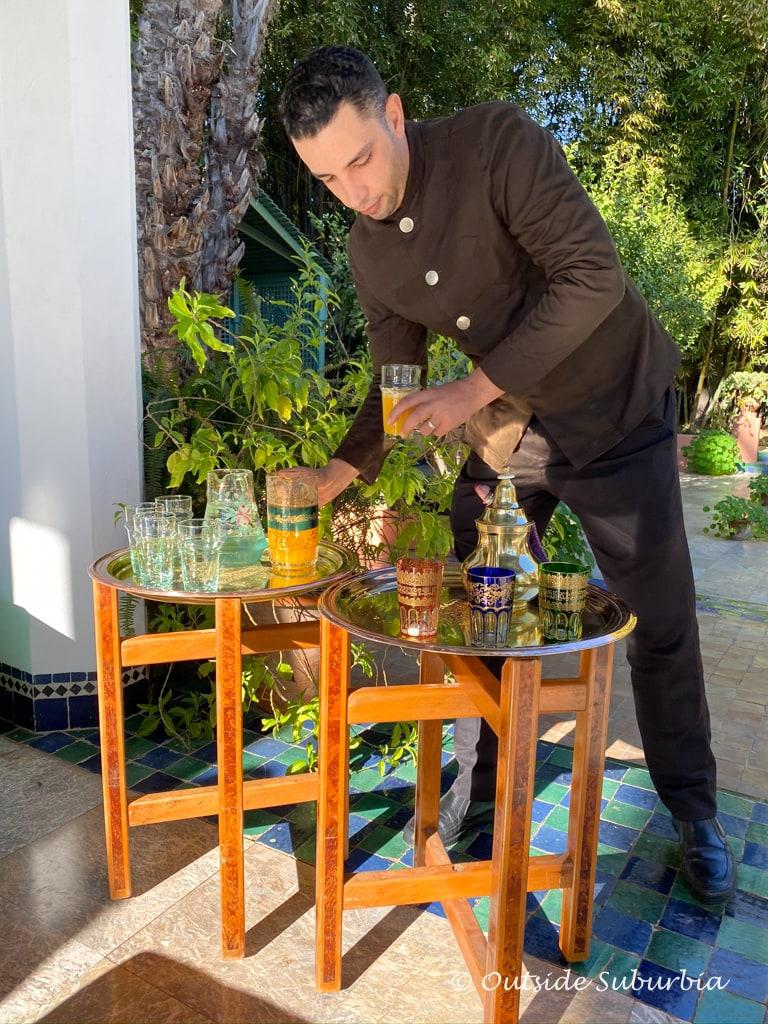 Yves Saint Laurent Villa Oasis, Marrakech | Outside Suburbia