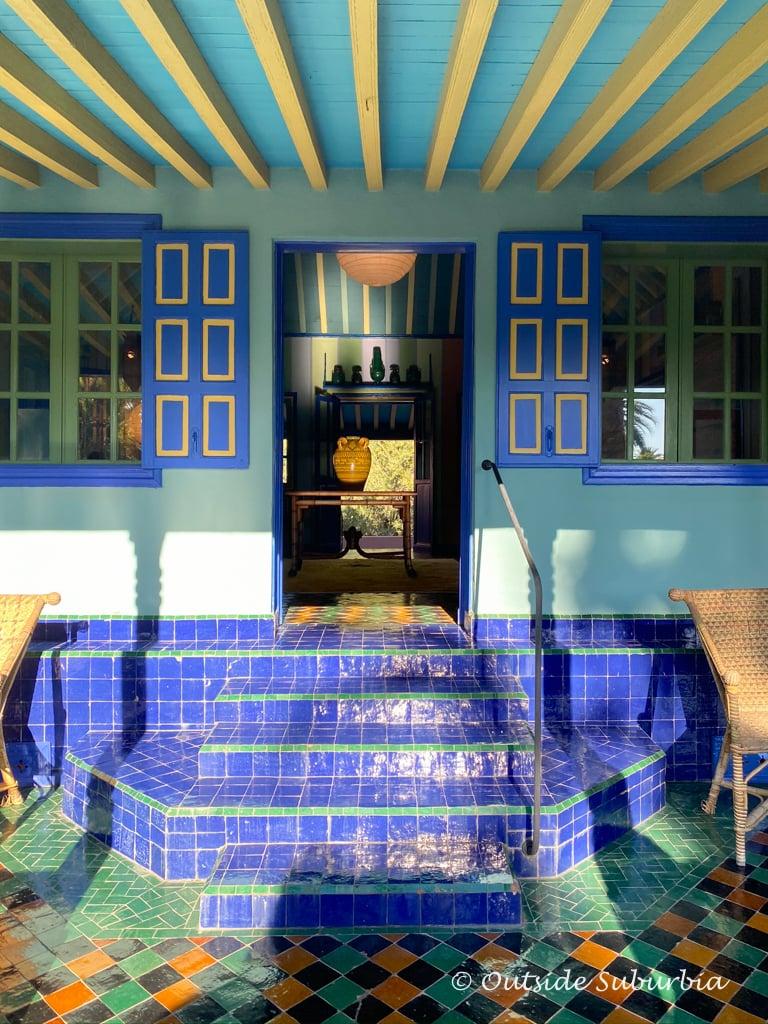 Inside Yves Saint Laurent's Majorelle Garden in Marrakech, Morocco | Outside Suburbia