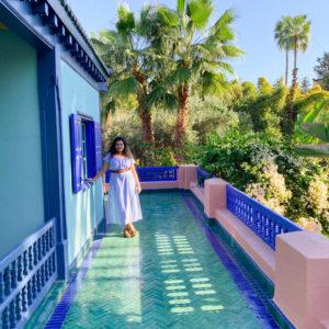 Yves Saint Laurent's Majorelle Garden in Marrakech