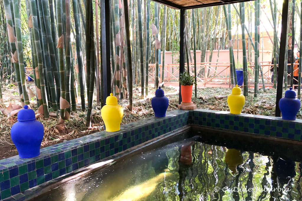 Yves Saint Laurent's Jardin Majorelle in Marrakech, Morocco | Outside Suburbia
