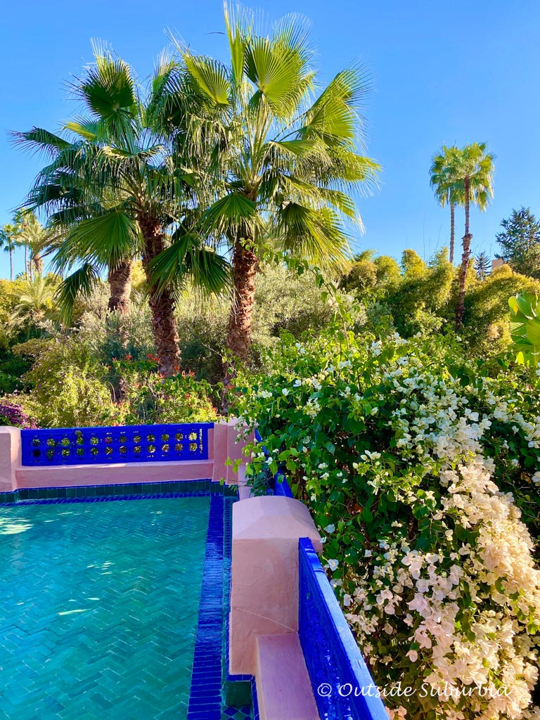 Yves Saint Laurent's Majorelle Garden in Marrakech, Morocco | Outside Suburbia