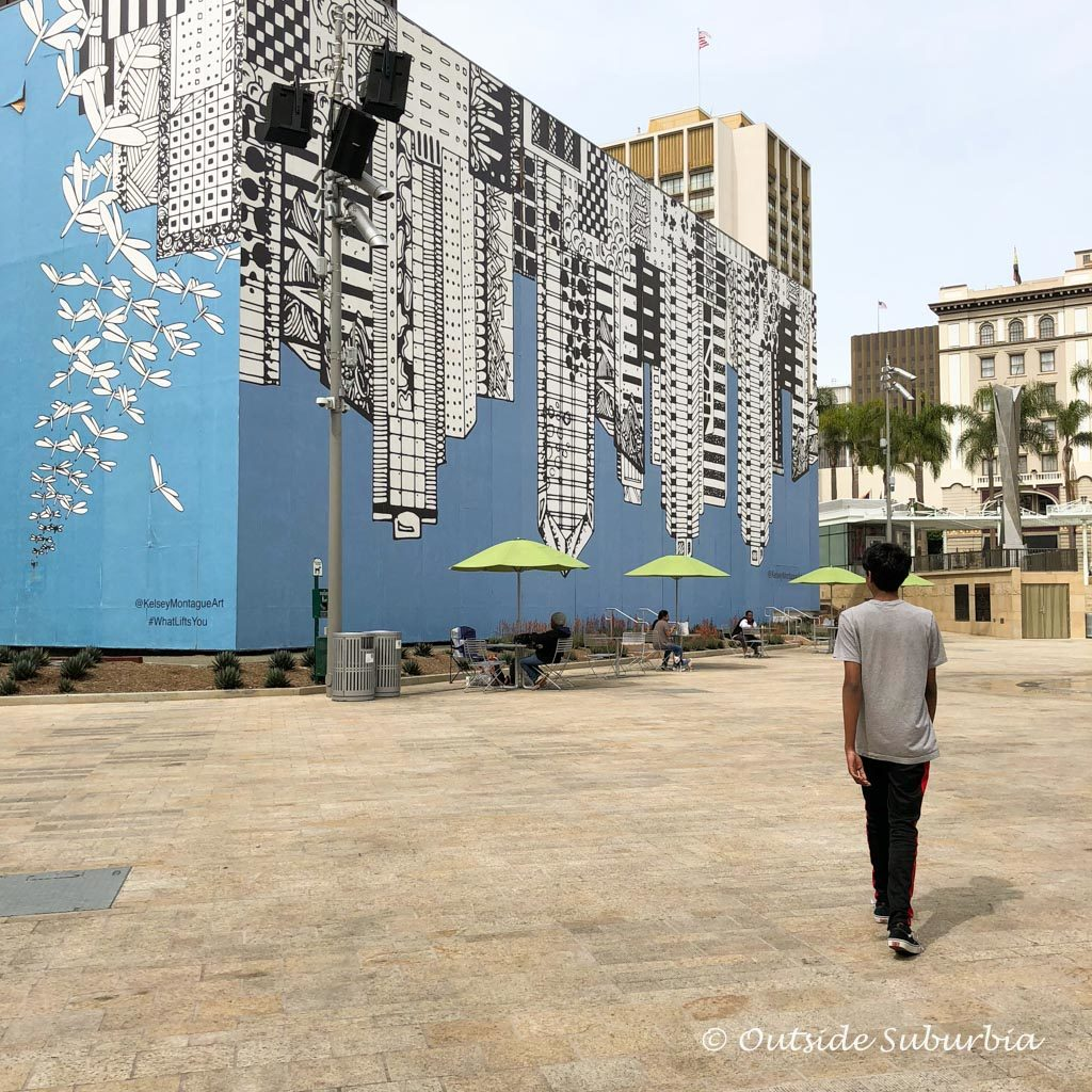 Kelsey Montague #WhatLiftsYou Mural in San Diego | Outside Suburbia