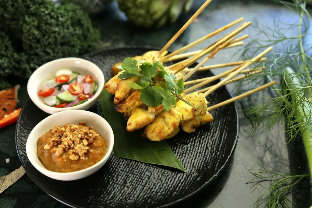 Chicken Satay: Best Thai dishes and street food you must try in Thailand   Outside Suburbia