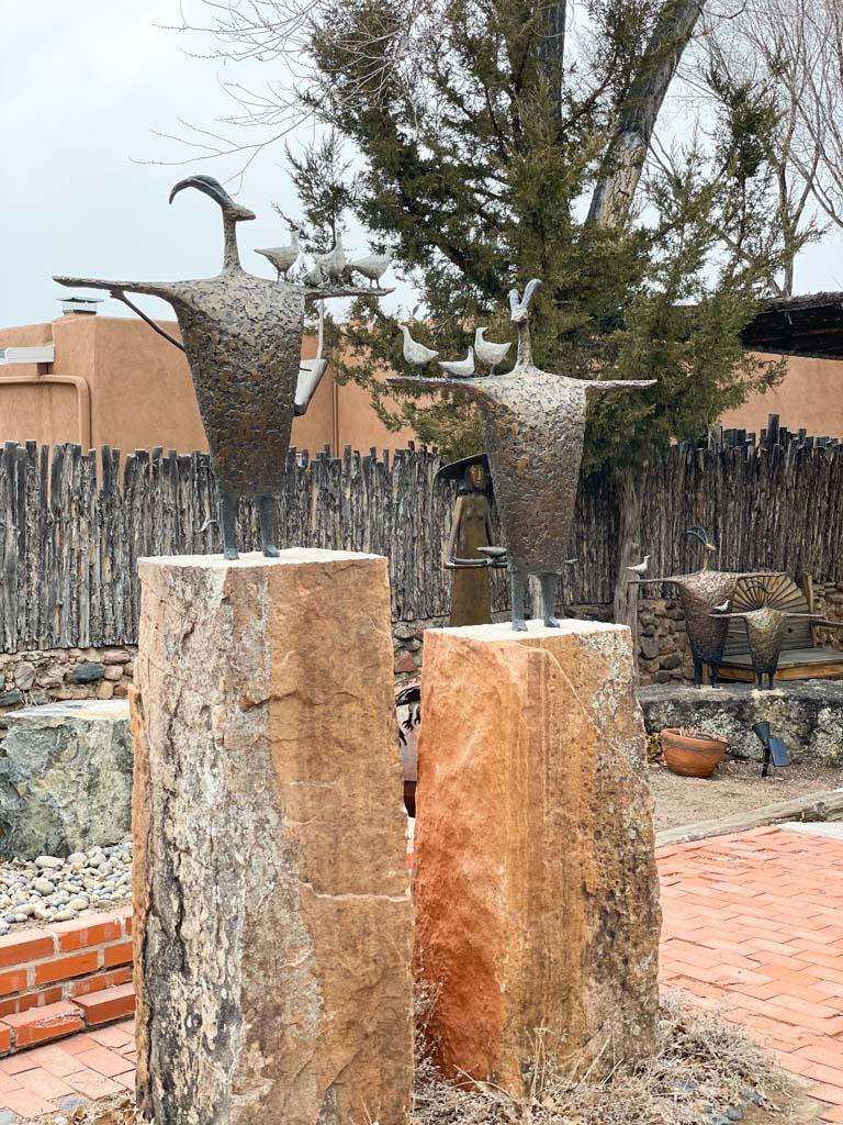 Sculptures Canyon Road, Santa Fe | Outside Suburbia