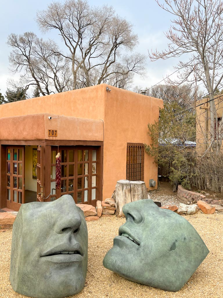 Interface: Susan Stamm Evans' Bronze Sculpture by at GF Contemporary, Canyon Road, Santa Fe | Outside Suburbia
